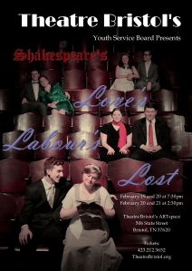 Theatre Bristol presents Shakespeare's Love's Labour's Lost