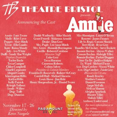 Annie cast announcement