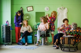 Theatre Bristol's Steel Magnolias Playing May 2014 photo credit: Kalani Odum of White Creek Photography