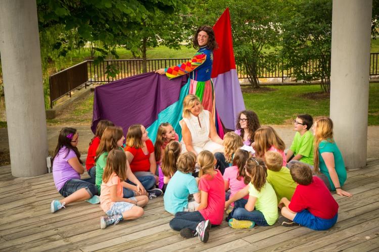 Theatre Bristol's Joseph and the Amazing Technicolor Dreamcoat June 20-22 and 27-2. Photo credit: Clayton Zane Photography