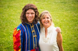 Nick Reynolds as Joseph and Laura O'Bryan as The Narrator