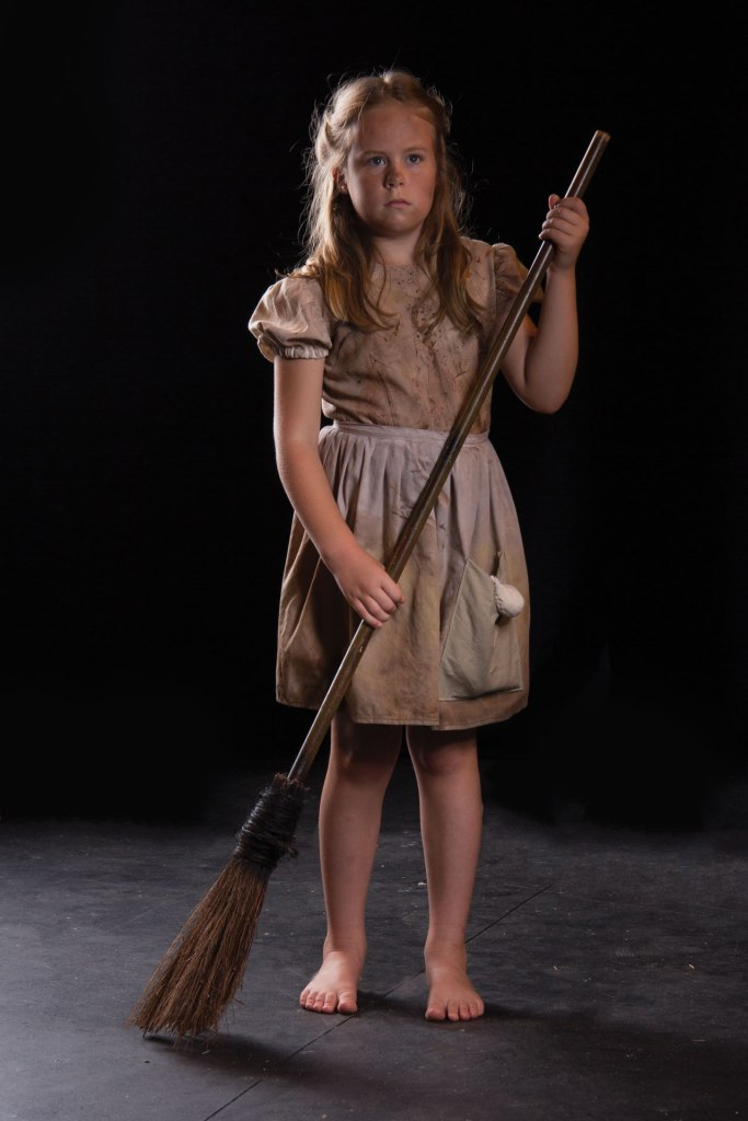 Theatre Bristol's 2015 Les Misérables: Lea Johns as Young Cosette - June 18-28, Paramount Center for the Arts