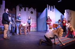 Theatre Bristol The Adventures of Robin Hood 2016 Rehearsal, directed by Steve Baskett