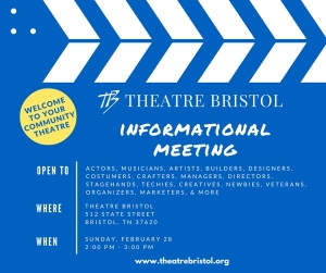 Theatre Bristol Informational Meeting - February 28