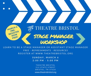 Theatre Bristol Stage Management Workshop - March 6