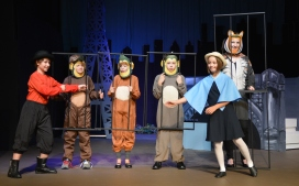 Theatre Bristol's The Adventures of Madeline by Ludwig Bemelmans at the zoo. August 26 - September 11