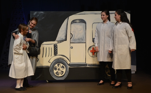 """Theatre Bristol's The Adventures of Madeline by Ludwig Bemelmans """"...something is not right!"""" August 26 - September 11"""