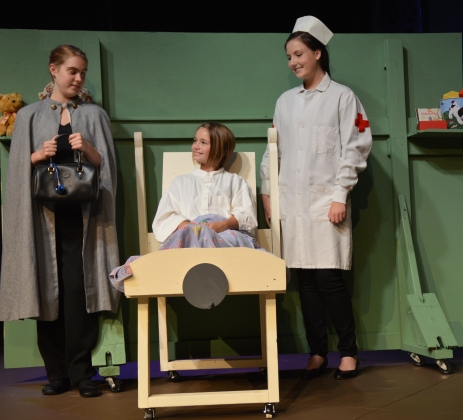 """Theatre Bristol's The Adventures of Madeline by Ludwig Bemelmans """"...you look like yourself again."""" August 26 - September 11"""