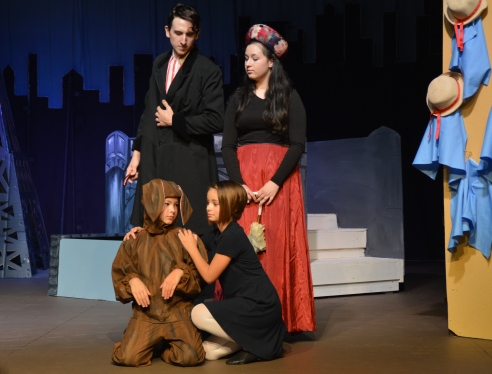 """Theatre Bristol's The Adventures of Madeline by Ludwig Bemelmans """"Go. Scat. Get out and never come back."""" August 26 - September 11"""