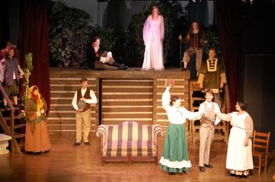 Theatre Bristol's Little Women, The Broadway Musical 2016