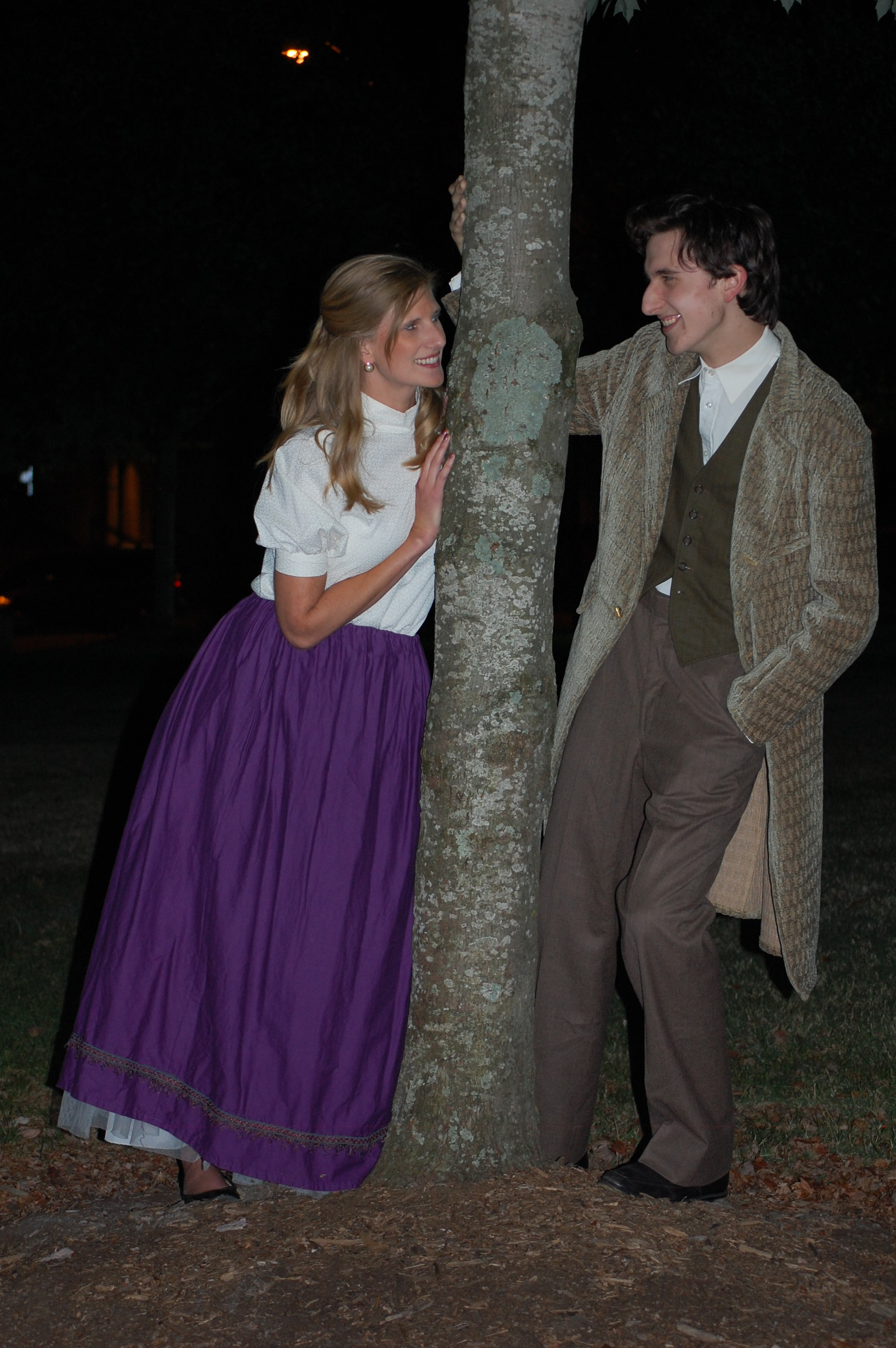Theatre Bristol's Little Women 2016 Emily Barnes as Meg, James Altman as John Brooks
