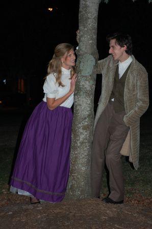 Theatre Bristol's Little Women 2016 Emily Barnes as Meg, James Altman as John Brooks