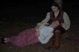 Theatre Bristol's Little Women 2016 Lorrie Anderson as Jo, Annika Burley as Beth