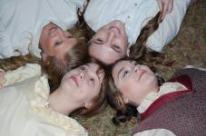 Theatre Bristol's Little Women 2016 March sisters