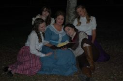 Theatre Bristol's Little Women 2016 Marmee and March sisters