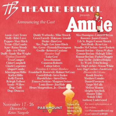 Annie cast announcement