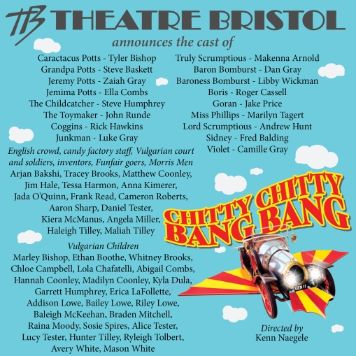 Chitty cast announce x