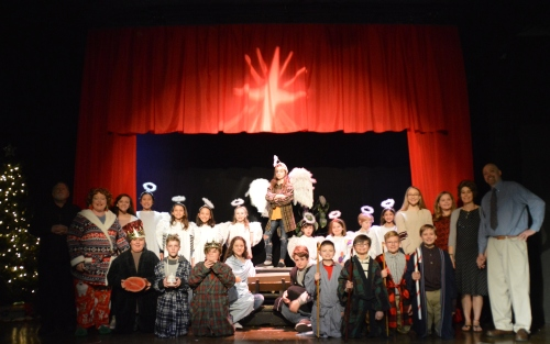 """Theatre Bristol """"The Best Christmas Pageant Ever"""" cast"""