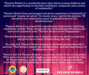 Theatre Bristol donate